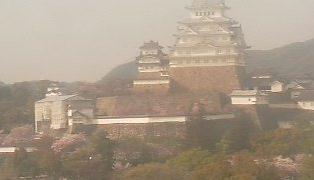 姫路城とその周辺ライブカメラ②と雨雲レーダー/兵庫県姫路市