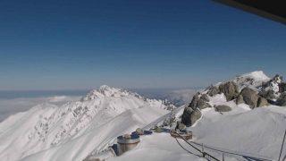 北アルプス立山(雄山)頂上(3,003m)ライブカメラと雨雲レーダー/富山県立山町