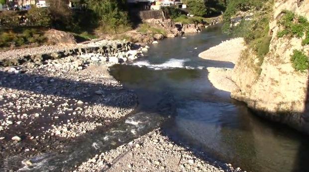 こいこい橋周辺の神流川ライブカメラと雨雲レーダー/群馬県多野郡神流町