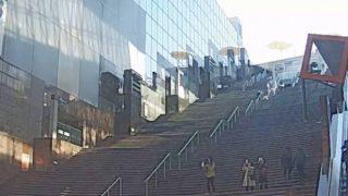 京都駅ビル大階段 ライブカメラと雨雲レーダー/京都府京都市