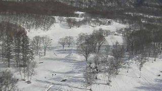 水上高原スキーリゾートと気象レーダー/群馬県みなかみ町