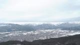 鷹狩山山頂から眺める北アルプスライブカメラと気象レーダー/長野県大町市