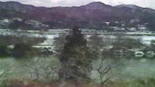北上川・大曲橋周辺ライブカメラと雨雲レーダー/岩手県奥州市