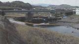 天神橋ライブカメラと気象レーダー/大分県由布市