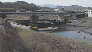 天神橋ライブカメラと雨雲レーダー/大分県由布市