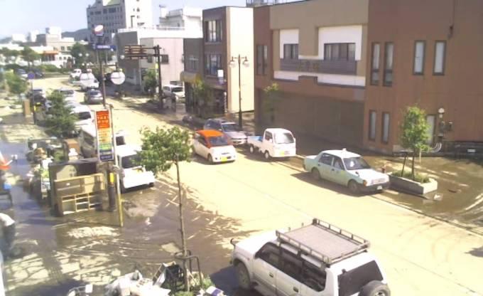 停止中:三陸鉄道久慈駅の周辺ライブカメラ(USTREAM)と雨雲レーダー/岩手県久慈市