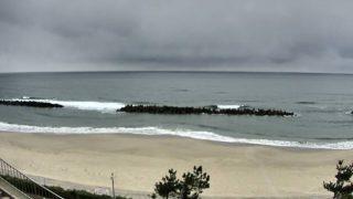キララビーチライブカメラと気象レーダー/島根県出雲市