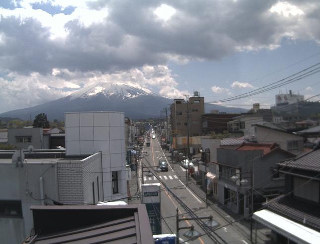 永寿電気 富士山ライブカメラと気象レーダー/山梨県富士吉田市