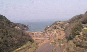 浜野浦の棚田ライブカメラと雨雲レーダー/佐賀県玄海町