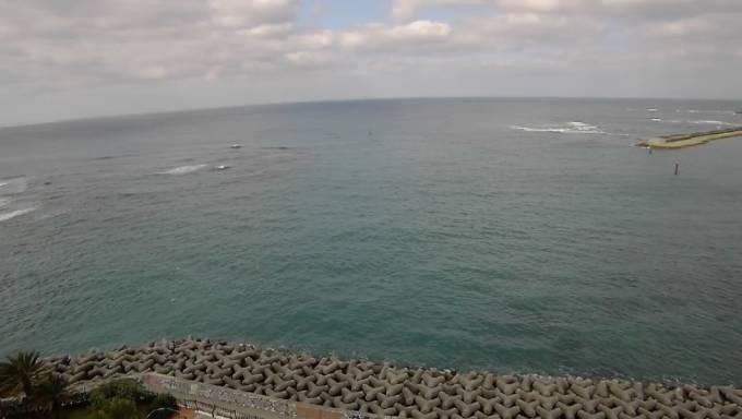 デポアイランド サンセット ライブカメラと雨雲レーダー/沖縄県北谷町