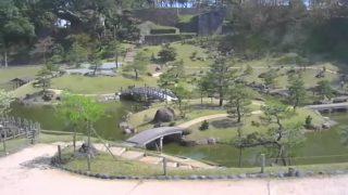 玉泉院丸庭園ライブカメラと雨雲レーダー/石川県金沢市