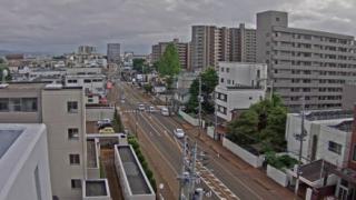 道路ライブカメラ(NCT)(14ヶ所)と雨雲レーダー/新潟県長岡市