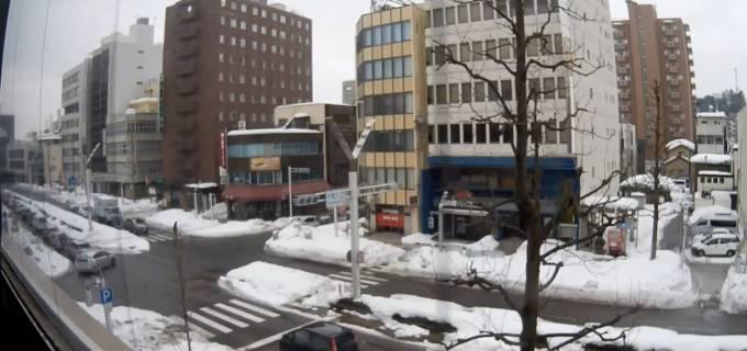 県道5号・中央大通りライブカメラと雨雲レーダー/福井県福井市