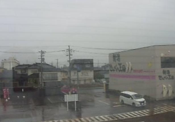 新潟せんべい王国ライブカメラと雨雲レーダー/新潟県新潟市