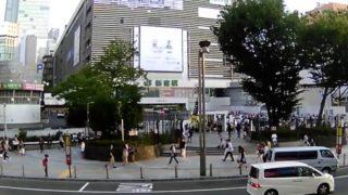 停止中:新宿東口駅前ライブカメラと気象レーダー/東京都新宿区