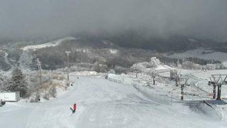 茶臼山高原スキー場頂上ライブカメラと雨雲レーダー/愛知県豊根村