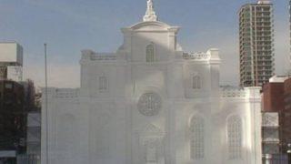 さっぽろ雪まつりHBCスウェーデン広場ライブカメラと雨雲レーダー/北海道札幌市