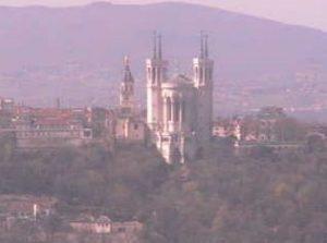 フランス:リヨン歴史地区のWebカメラ