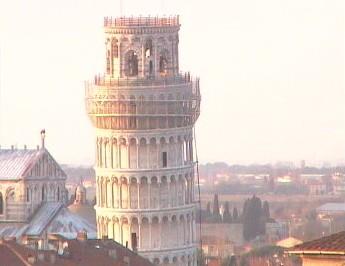 Rete Cvica Pisana ピサの斜塔ライブカメラ/イタリアピサ市
