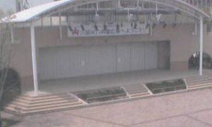 停止中:六角堂広場ライブカメラと雨雲レーダー/福岡県久留米市