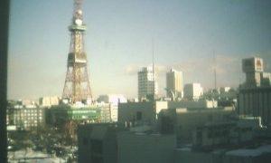 さっぽろTV塔ライブカメラと雨雲レーダー/北海道中央区