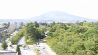 青森市街・岩木山・八戸港ライブカメラ(3ヶ所)と雨雲レーダー/青森県