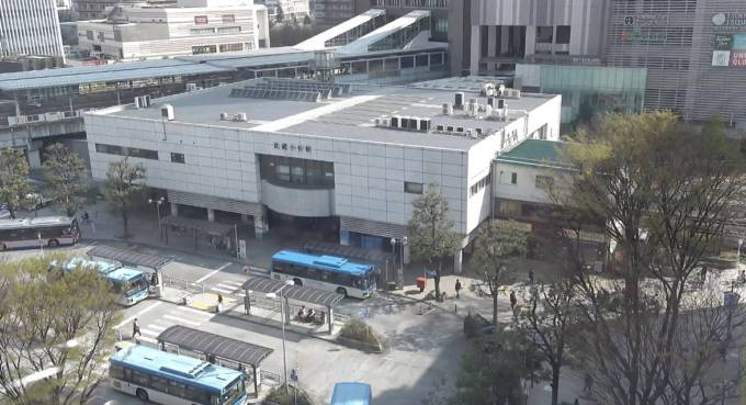 武蔵小杉駅ライブカメラと気象レーダー/神奈川県川崎市