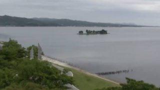 宍道湖ライブカメラと雨雲レーダー/島根県松江市