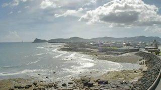 枕崎市岩戸の海ライブカメラと雨雲レーダー/鹿児島県枕崎市