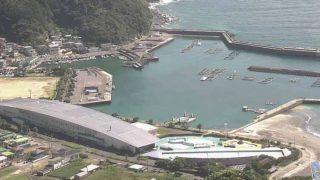 かまえの海 ライブカメラと雨雲レーダー/大分県佐伯市