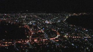 函館山(函館湾と津軽海峡)ライブカメラと雨雲レーダー/北海道函館市