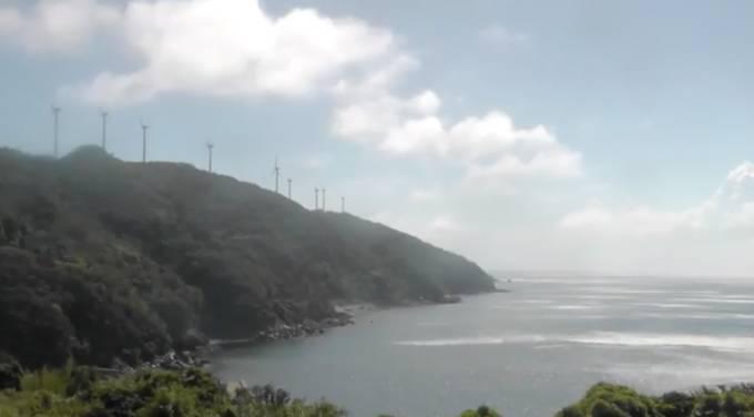 佐田岬半島ライブカメラと気象レーダー/愛媛県伊方町
