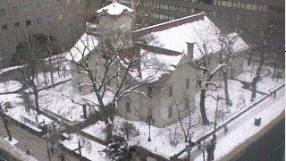 停止中:北海道新聞社にある札幌時計台ライブカメラと雨雲レーダー/北海道中央区