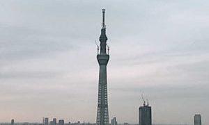 東京スカイツリーライブカメラと雨雲レーダー/東京都墨田区