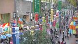 仙台七夕祭り・一番街商店街ぶらんどーむライブカメラと気象レーダー/宮城県仙台市