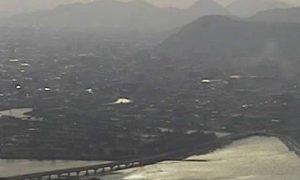 停止中:瀬戸内海がみえる屋島山頂ライブカメラと雨雲レーダー/香川県高松市
